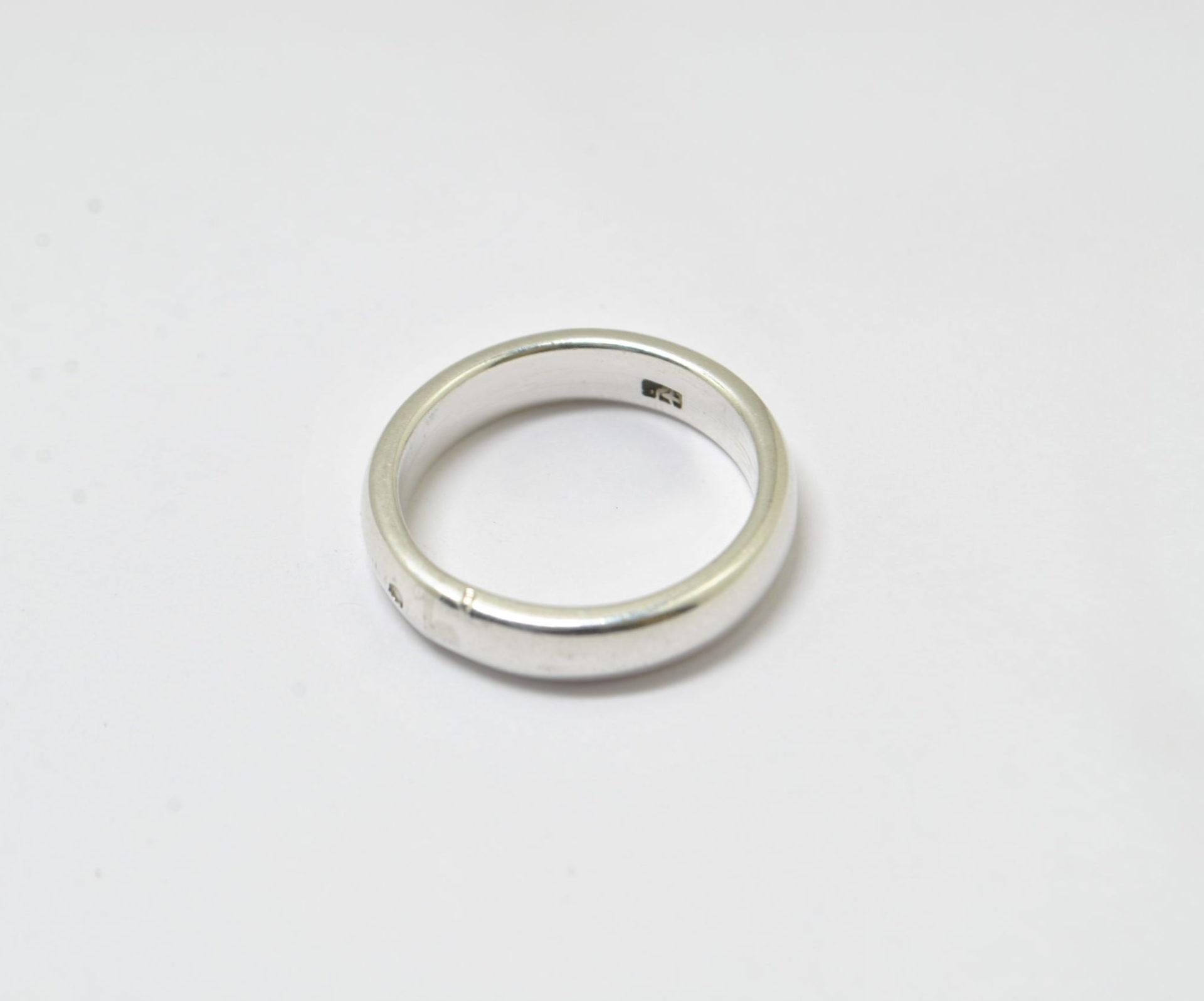 Bague anneau en argent 925