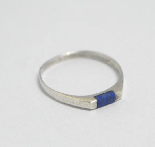 Bague Iroquoise en lapis lazuli