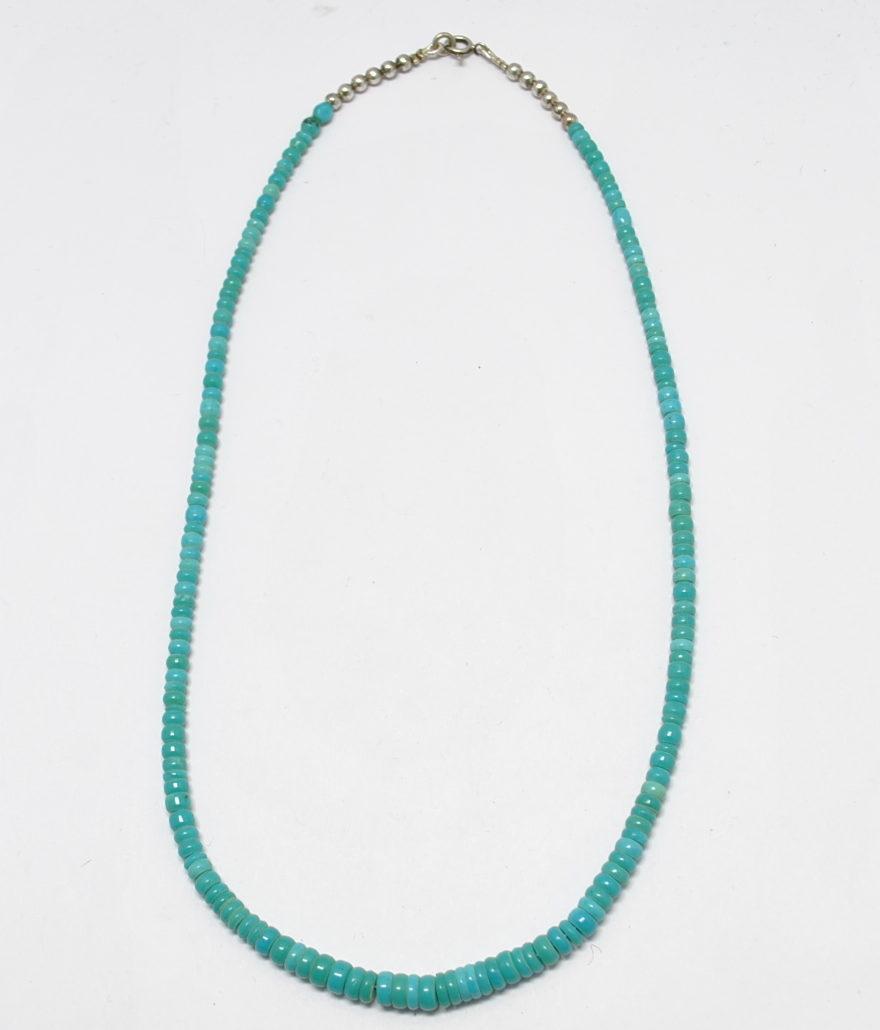 Petit collier turquoise vintage