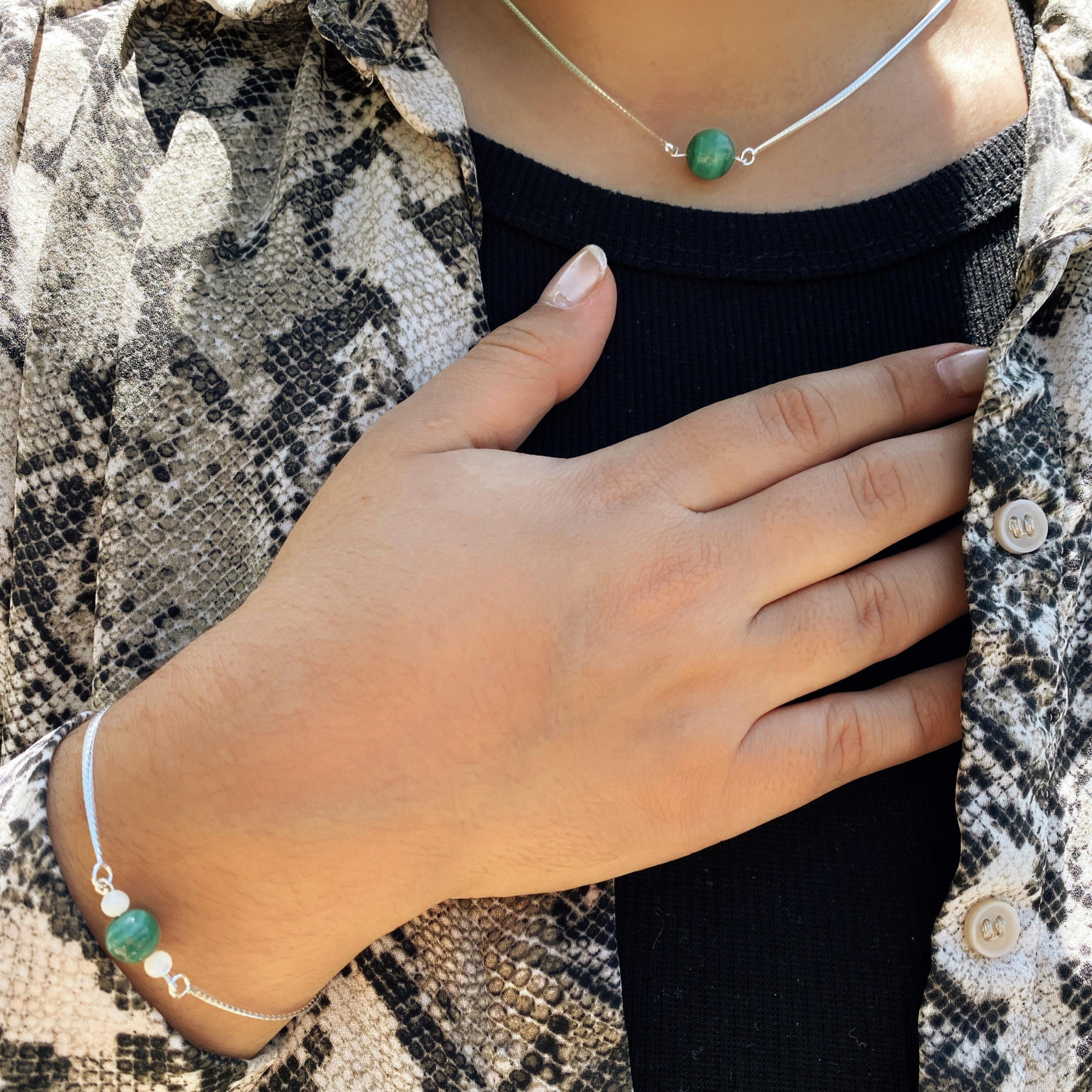 collier-bracelet-malachite